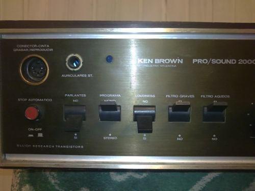 ken brown amplificador