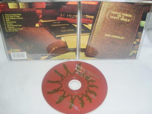 ken hensley - proud words on a dusty shelf (uriah heep) $7.9