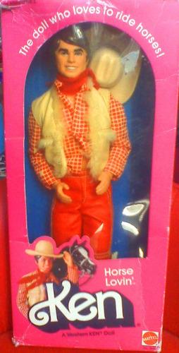 ken horse lovin del ano de 1980s