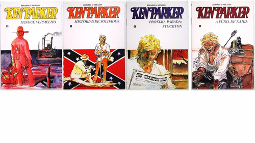 ken parker - cluq - várias edições - r$ 50 cada novos!