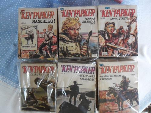 ken parker editora vecchi! cada r$ 20,00! complete a coleção