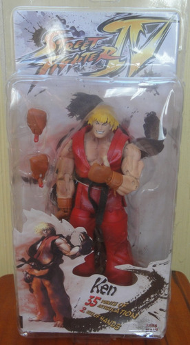 ken street fighter  iv capcom  neca