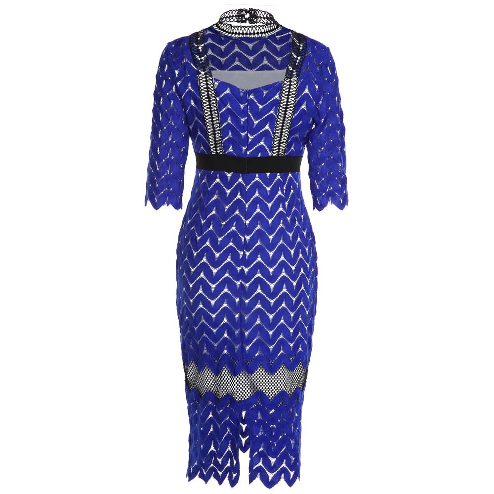Kenancy Encaje Alto Cuello Boda Vestido - $ 421.75 en Mercado Libre