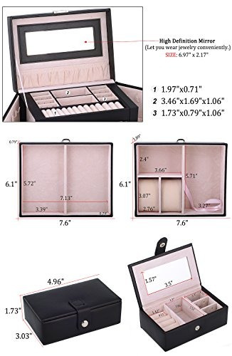 kendal large jewelry jewelry / case / storage / organizer c