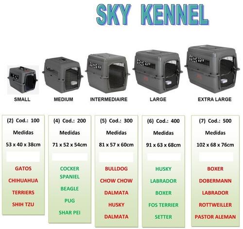 kennel 200 y300 para viajes en avion asesoria