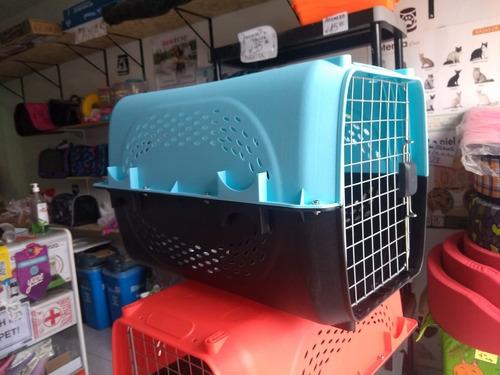 kennel l60 transportador perro gato viaje