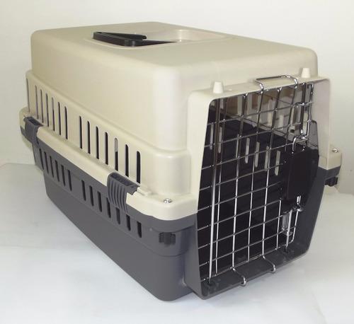 kennel transportador pequeño (l50), con piso impermeable
