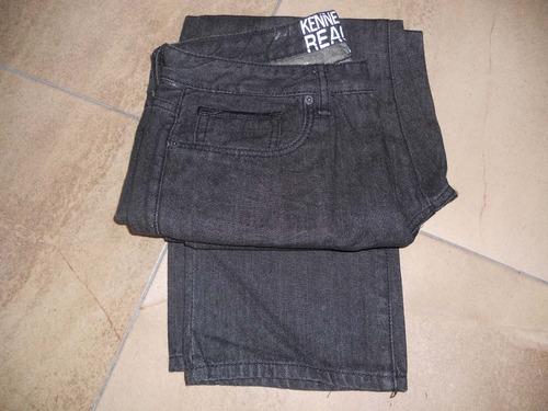 kenneth cole jean nuevo en talla 32 x 30 negro
