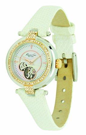 kenneth cole new york reloj de las mujeres de cuero kc2529