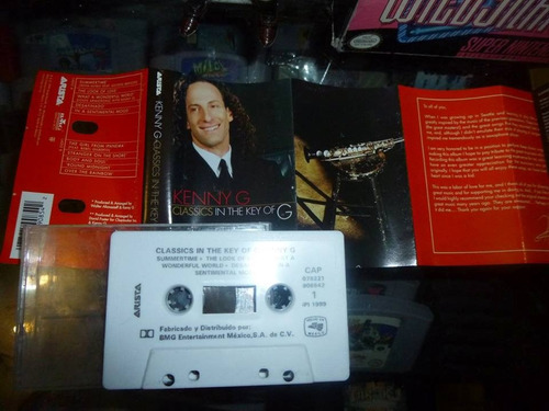 kenny g classics in the key of g cassette