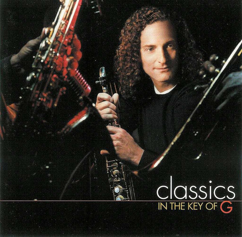 kenny g classics in the key of g cd 1ra ed 1999 usa