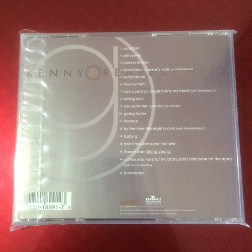 kenny g - greatest hits (cd, 1997)