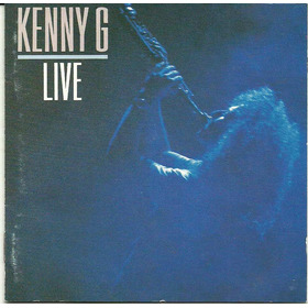 Kenny G Live - Cd Importado - Japan