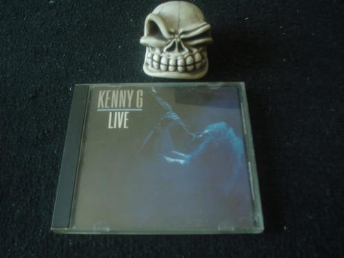 kenny g  live   cd