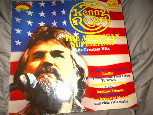 kenny rogers - the american superstar vinyl