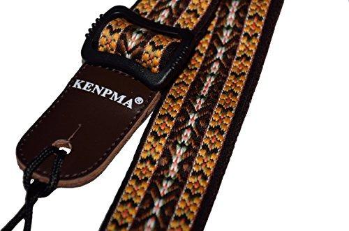 kenpma pure soft algodón ukulele ajustable correa para el ho