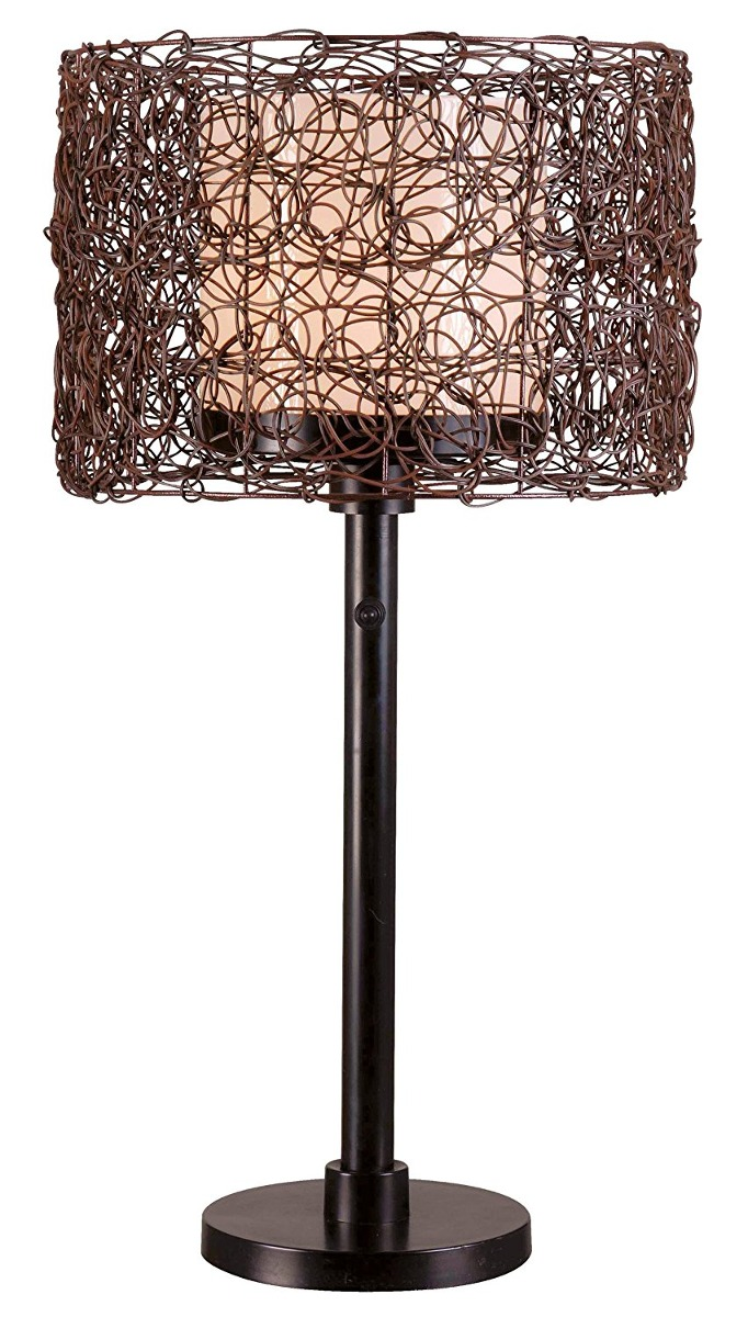 Kenroy home 32219brz tanglewood outdoor table lamp bronze f table lamp bronze f cargando zoom aloadofball Gallery
