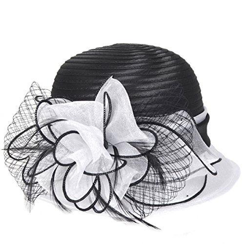 kentucky derby dress church cloche hat sweet cute floral b