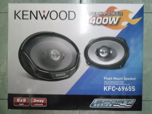 kenwood bocinas 6x9 3 vias 400 whatts