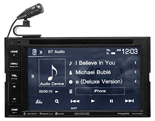 Kenwood Dvd iPhone Android Spotify Bluetooth Receptor Para 0