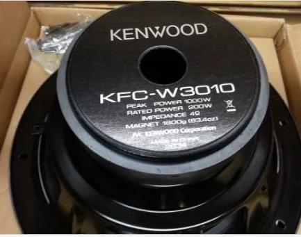kenwood kfc-w3010, tornado, nuevo 12 pulgadas  envio gratis
