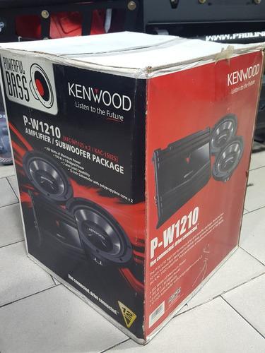 kenwood p-w1210 combo 2 bajo 12  1 planta nuevo en caja