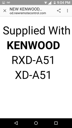 kenwood rc-552