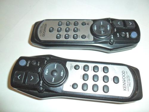 kenwood rc 557 y rc 517 control remoto auto equipos kzd mp
