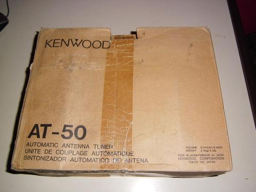 kenwood ts-50 con filtro de cw opcional instalado  más at 50