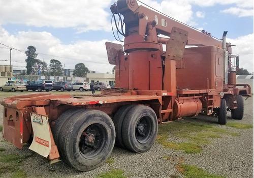kenworth c565 titán camión grúa 1988