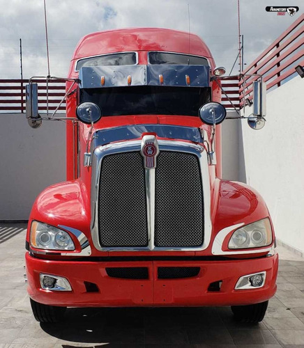 kenworth tractocamion t-660 rojo 2014