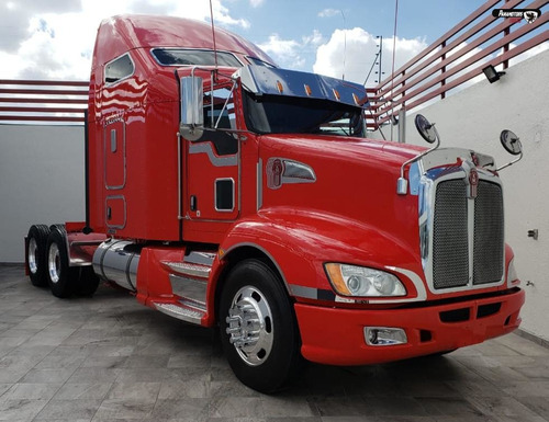 kenworth tractocamion t660 2014 rojo