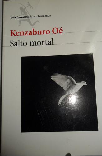 kenzaburo oé  salto mortal usado seix barral