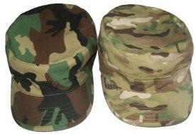 kepi, casquete, gorra  mimetizada o multicam