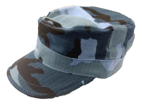 kepi gorro camuflado azul urbano casquete 510037