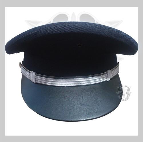 kepi policíaco negro,azul,equipamiento normas subsemun