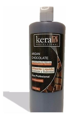 keraliss profesional keratina  chocolate / almendr 1000 enví