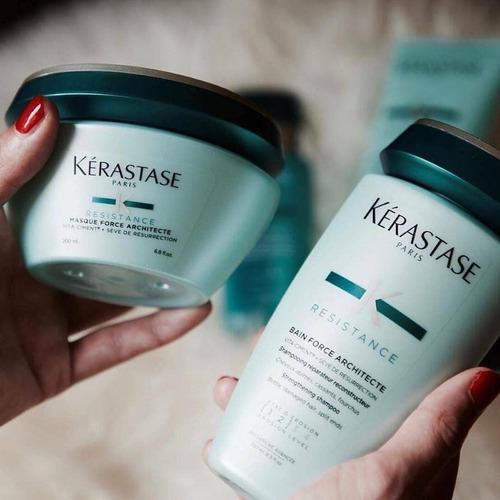 kérastase kit résistance: force architecte shampoo + acon