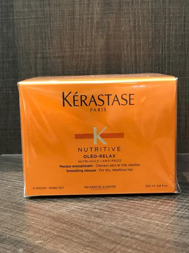 kérastase nutritive máscara oleo relax  - 200ml + brinde