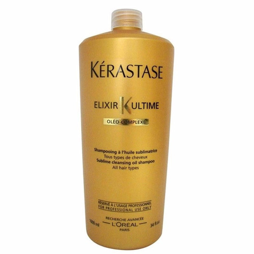 kerastase shampoo bain elixir ultime 24 quilates 1000ml r 246 90 em mercado livre. Black Bedroom Furniture Sets. Home Design Ideas