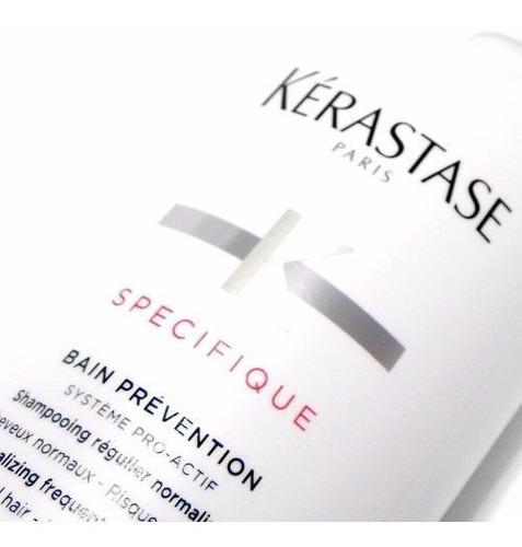 kerastase specifique bain prevention shampoo control caida
