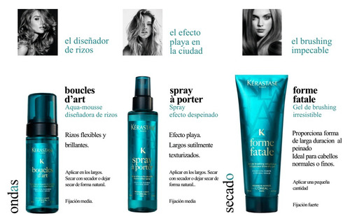 kerastase spray a porter spray  150ml.