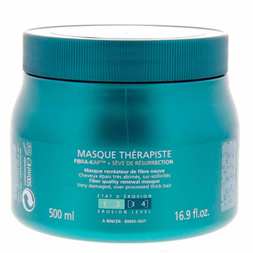 kérastase thérapiste - soin 1lt/shampoo 450ml/máscara 500ml