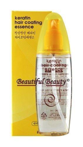 keratin hair coating essence 100ml por keratin