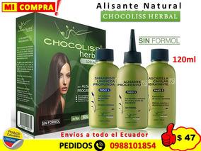 Venta de descuento 2019 Zapatillas 2018 precio competitivo Keratina Alisante Natural Chocoliss Herbal 120ml -sin Formol