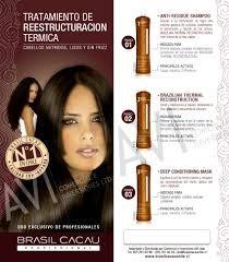 keratina brasil cacau, kit individual de 125ml $ 14990