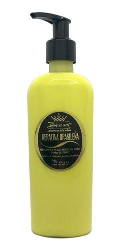 keratina brasileña 250 ml alaciado en frío sin frizz