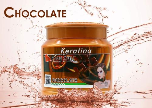 keratina capilar chocolate cabello belleza / n ofertas