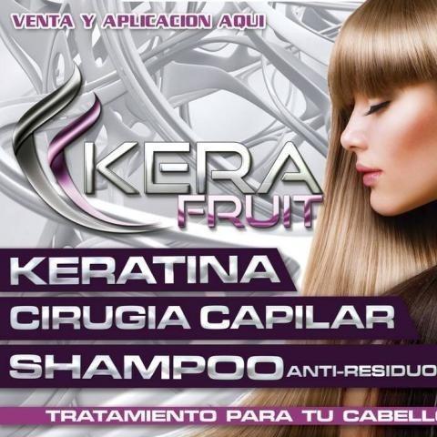 keratina cirugía capilar kera fruit 1 l original kit 2 pasos