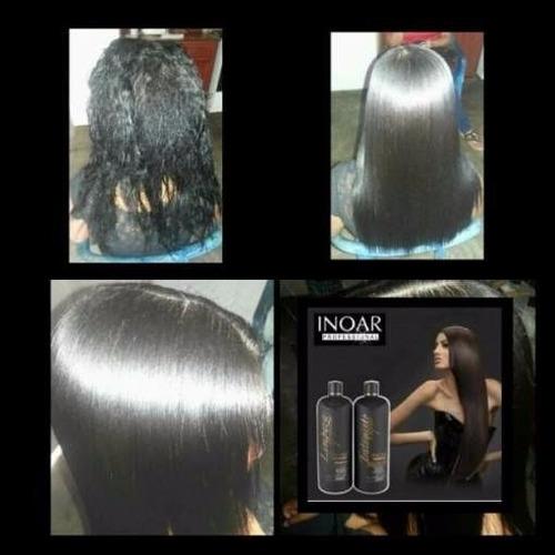 keratina inoar brasilena marroqui 120ml shampoo + keratina